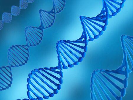 genom: Illustration of DNA Stock Photo