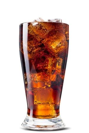 colas: Cola. Isolato su bianco Archivio Fotografico