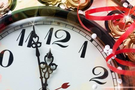 new year clock Stock Photo - 11150290
