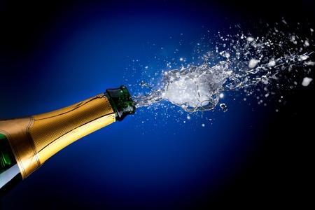 holydays: Champagne splash