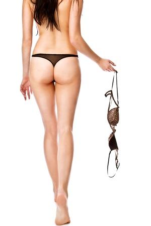 sexy f�sse: Frau Lizenzfreie Bilder