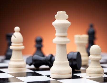 Chess pieces 版權商用圖片