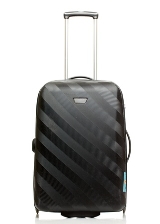 Suitcase isolated on a white background  photo