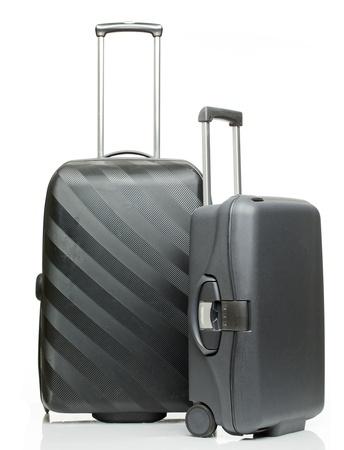 maleta: Maleta aislado en un fondo blanco