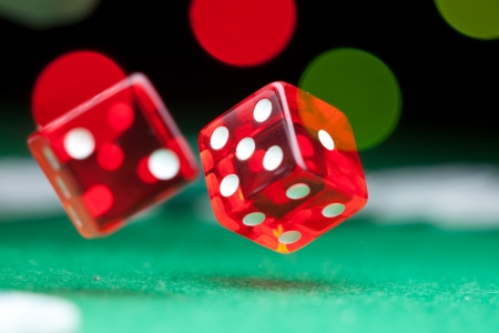Two dice photo