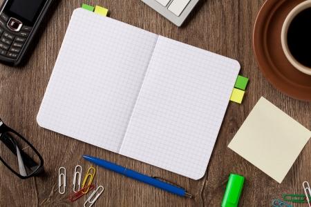 workbook: Notebook and office supplies