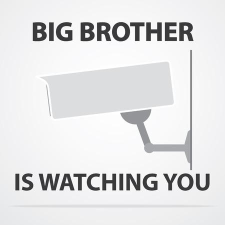 nightvision: Big brother Illustration