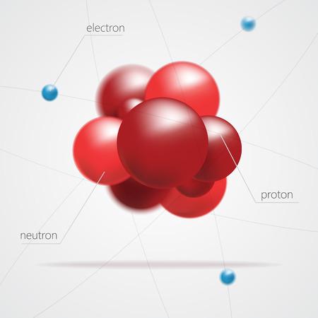 Molecules structure vector