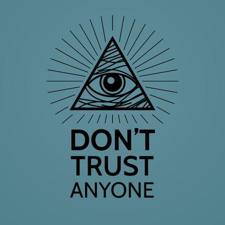 occhio di horus: Concetto con Eye of Providence