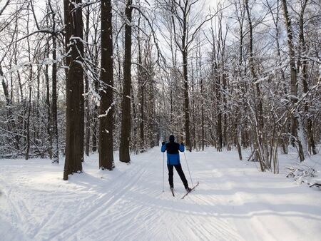 crosscountry: Cross-country skiing