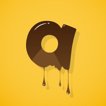 write abc: Chocolate letter