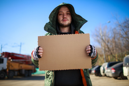 wretched: Homeless person