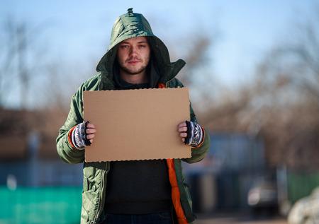 vagabundos: Persona sin hogar