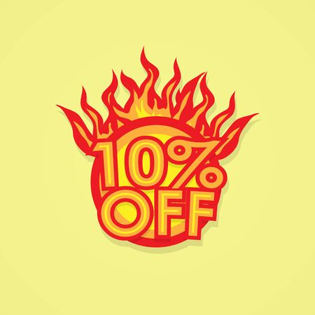 fervent: Fiery discount.