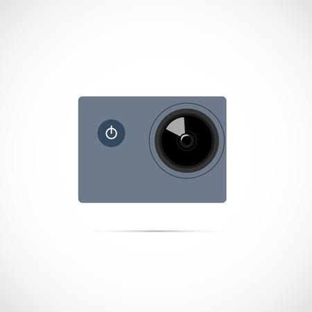 действие: крайняя видео действия цифровая камера