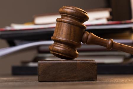 supreme court: Folder, judges hammer on table