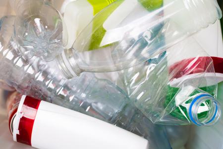 Picture of utilized PET bottles
