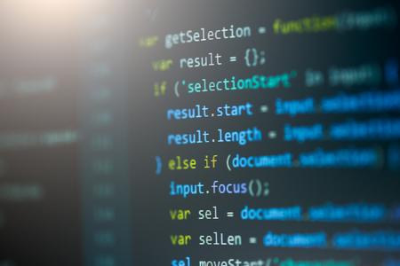 css: Software computer programming code