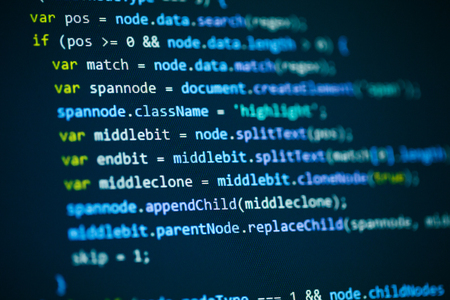 css: Software computer programming code background