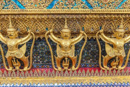 garuda: golden garuda statue
