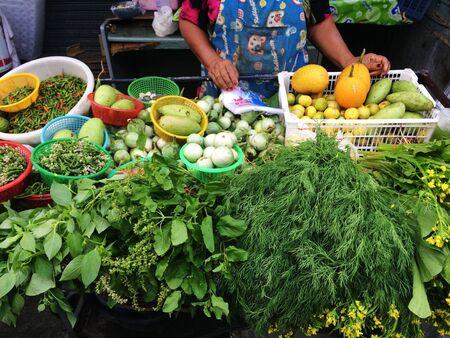 stall: Vegetable stall