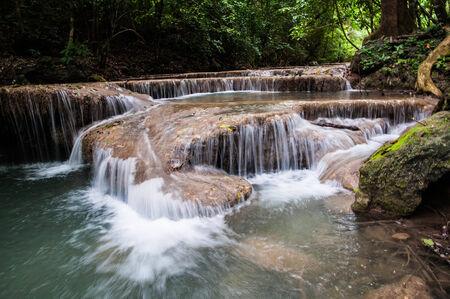 Erawan waterfall photo