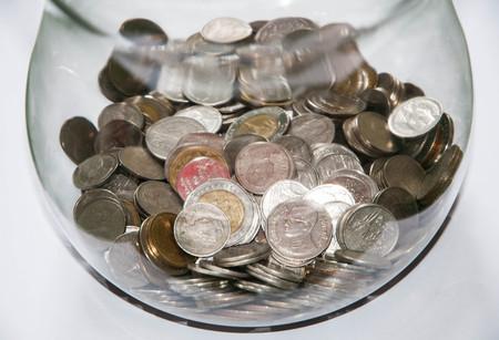 Money in jar photo
