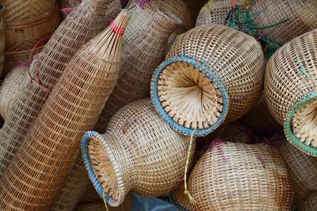 wattle: Bamboo wicker