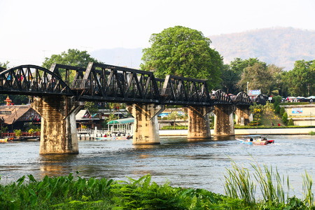 The bridge over River Kwai photo