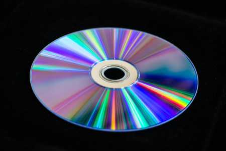 DVD reflex sunlight photo