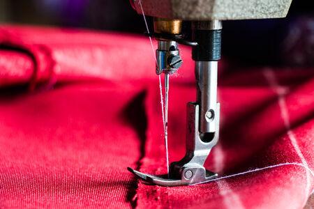 zigzagger: Sewing machine Stock Photo
