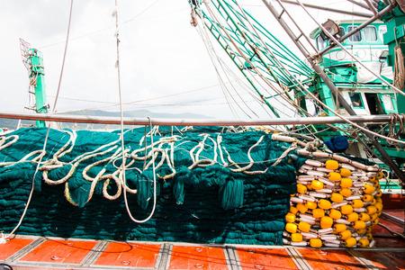 trawl: Trawl on fishing boat