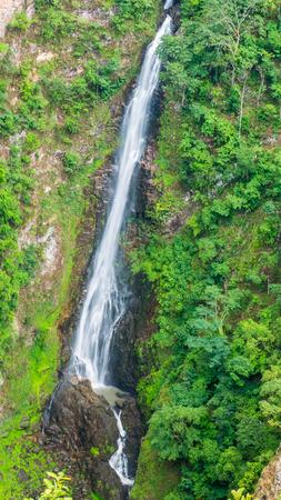 rains: Mae Surin Waterfall in Maehongson Thailand