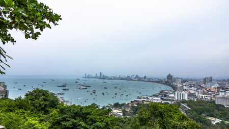 Pattaya city in Thailand Фото со стока