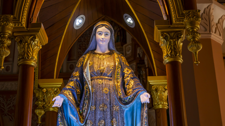 Mother Mary in the christ church