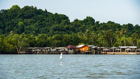 Moken Village at Ko Lao Island Ranong Province Thailand Stock Photo - 122672764
