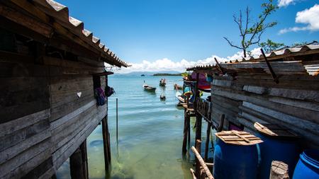 Moken village at Thailand