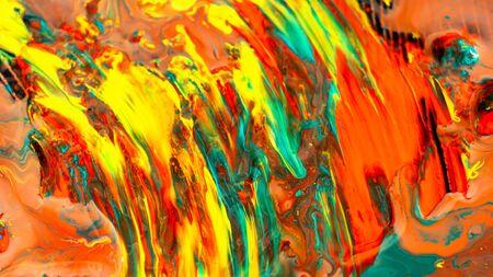 Acrylic color abstract background Archivio Fotografico - 132110117