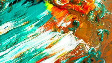 Acrylic color abstract background Archivio Fotografico - 132110700