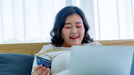 Fat women shopping online