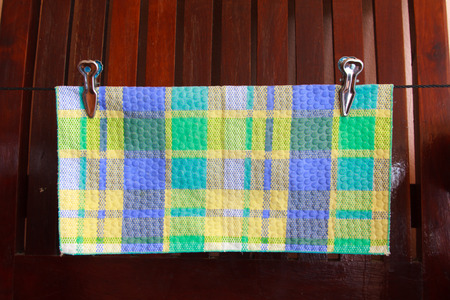 handkerchief: Dry handkerchief