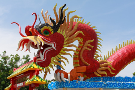 Chinese Dragon in public park  free for all every one