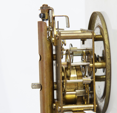 gear mechanism: gear mechanism of clock