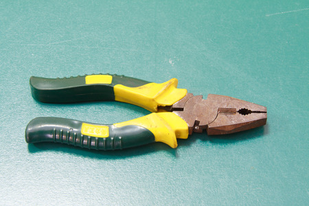 pincers: pliers, pincers, clamp Stock Photo