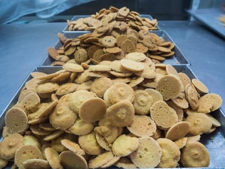 cookies in factory