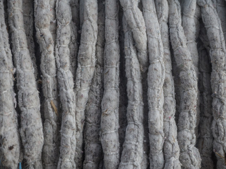 mob: dirty rope mob texture Stock Photo