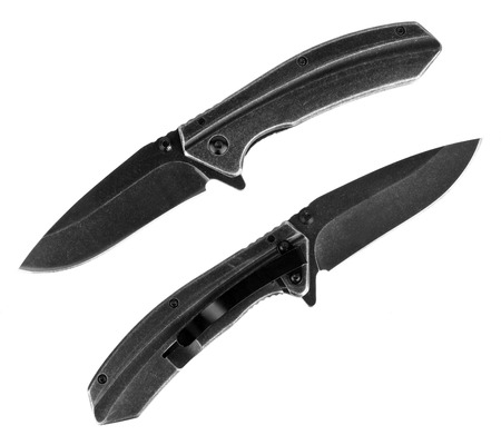 folding knifes with stainless steel handle