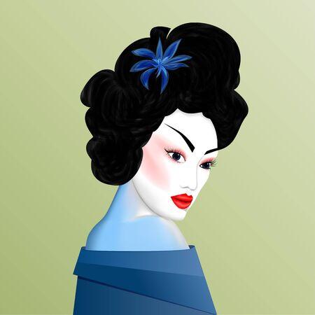 geisha: beautiful geisha