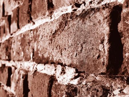 Sepia Brick Wall