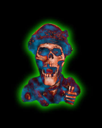 Radioactive Skull photo